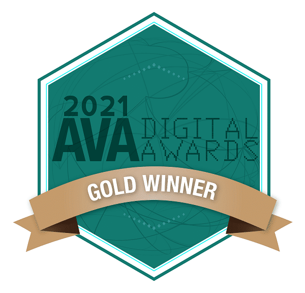 Gold Site Award pop up