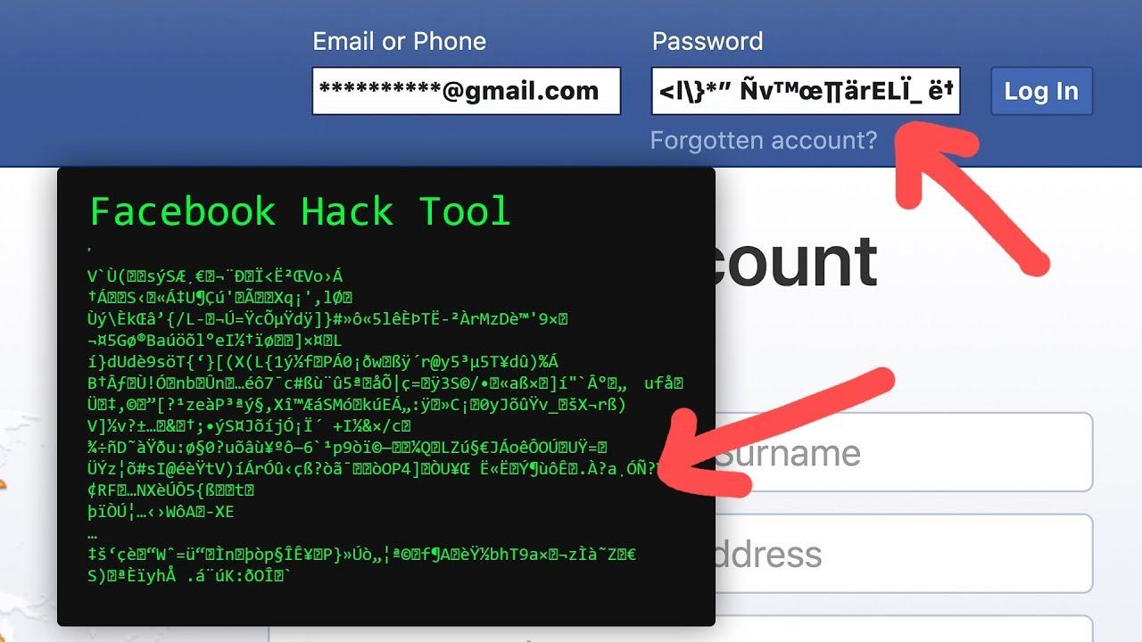 facebook hack tool