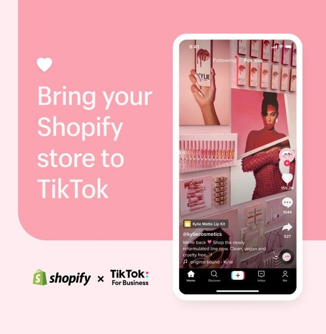 tiktok συνεργασία με shopify image 2